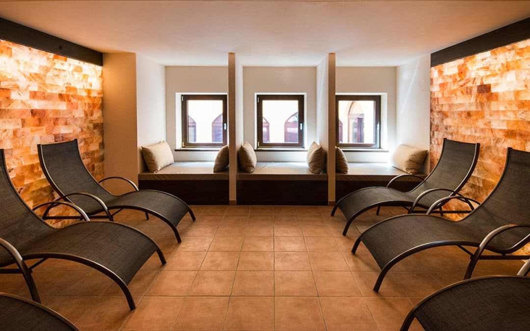 stanza relax del sale e haloterapia