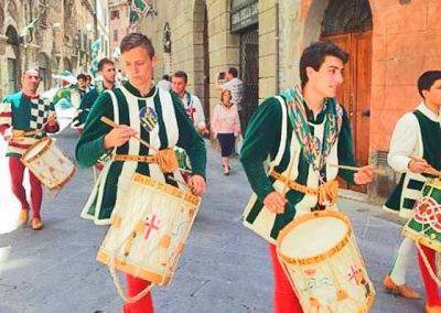 Florence to Siena one-day tour Siena - Palio parade - Crossing Chianti to Siena   bikeinflorence.com