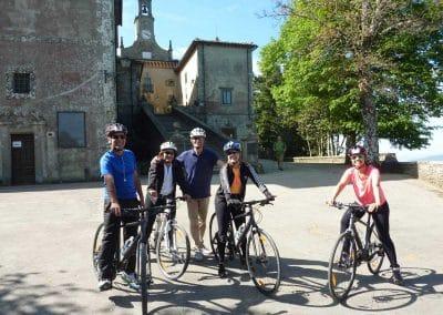 Downhill to Florence bike tour | Monte Senario | bikeinflorence.com