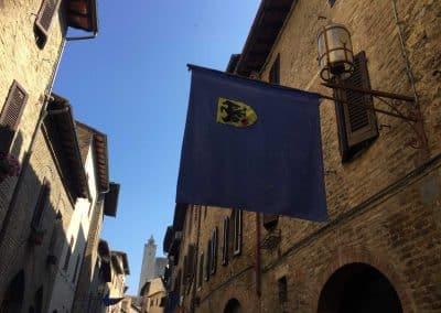 San Gimignano to Siena bike tour - street view | bikeinflorence.com