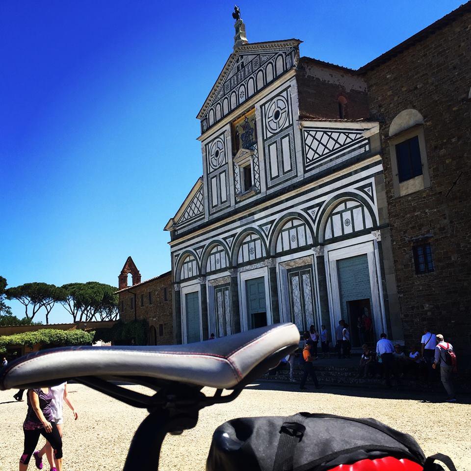 Enchanting Florence bike tour | San Miniato al Monte | bikeinflorence.com