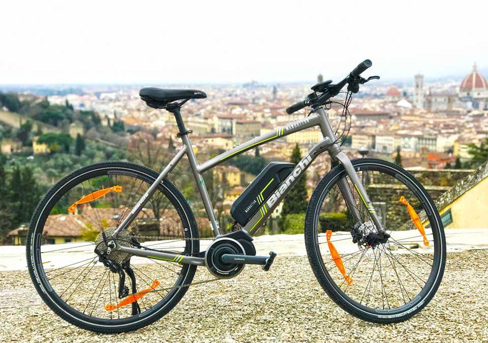 E-bikes are here!