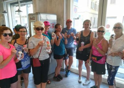 Downhill to Florence bike tour | gelato time! | bikeinflorence.com