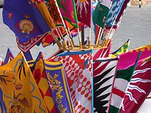 There are 17 contrade that can race in the Siena Palio :: Bike Florence & Tuscany