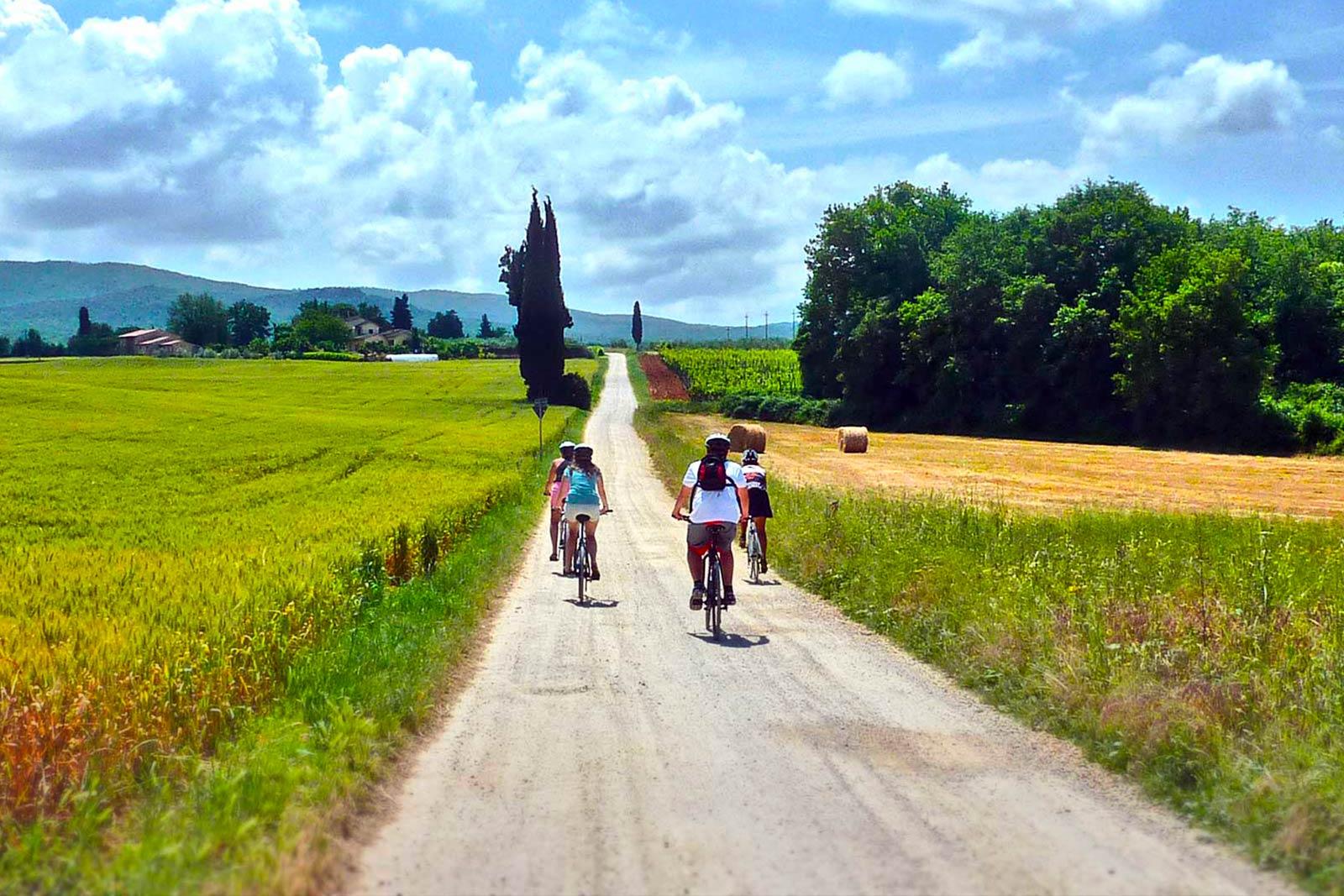 San Gimignano to Siena bike tour | bikeinflorence.com