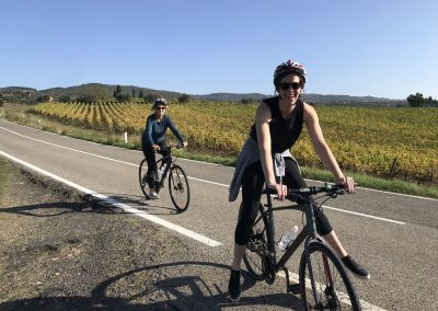 Downhill to Florence bike tour | happy guests | bikeinflorence.com