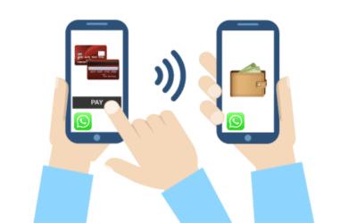 WhatsApp scambio in chat di denaro fra contatti