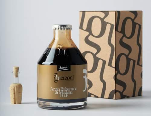 La nuova bottiglia Guerzoni è un sogno che si realizza.