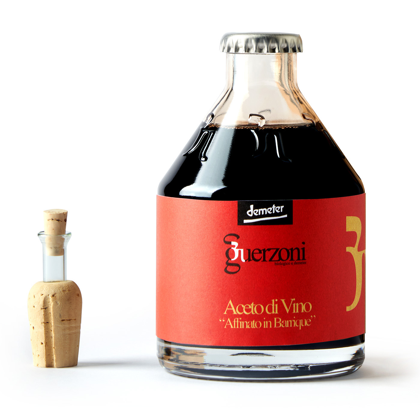 Refined wine vinegar - Organic Biodynamic
